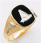 Past Master Ring Macoy Publishing Masonic Supply 5143BL