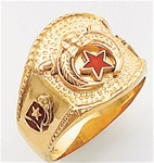 Masonic Shrine Ring Macoy Publishing Masonic Supply 5191BL