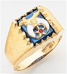 Masonic Shrine Ring Macoy Publishing Masonic Supply 5192