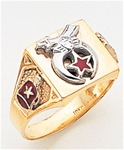 Masonic Shrine Ring Macoy Publishing Masonic Supply 5193