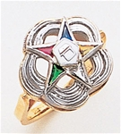 Order of the Eastern Star Ring Macoy Publishing Masonic Supply 5500