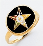 Order of the Eastern Star Ring Macoy Publishing Masonic Supply 5501