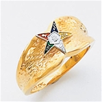 Order of the Eastern Star Ring Macoy Publishing Masonic Supply 5502