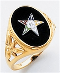 Order of the Eastern Star Ring Macoy Publishing Masonic Supply 5513