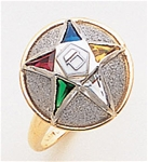 Order of the Eastern Star Ring Macoy Publishing Masonic Supply 5516