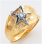 Order of the Eastern Star Ring Macoy Publishing Masonic Supply 5529