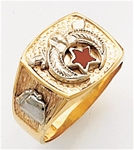 Masonic Shrine Ring Macoy Publishing Masonic Supply 5623