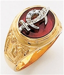 Masonic Shrine Ring Macoy Publishing Masonic Supply 5624SBL