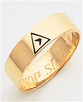Masonic 14 Degree Scottish Rite Ring Macoy Publishing Masonic Supply 5717