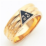 Masonic 33 Degree Scottish Rite Ring Macoy Publishing Masonic Supply 5733