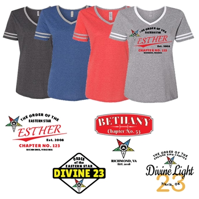 OES Varsity Triple End Chapter Shirt