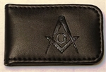 Masonic Magnetic Money Clip