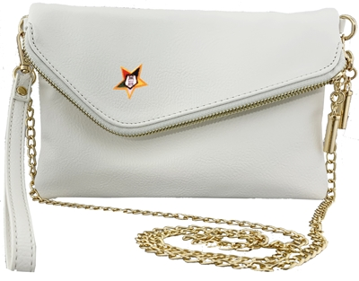 White Fashion Clutch