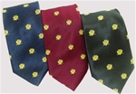 Scottish Rite Wings Down Woven Polyester Tie Assorted Colors