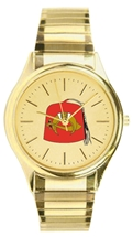 Shrine Watch w Goldtone Expansion Band