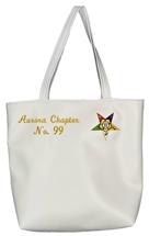 "Custom OES ""So soft it should be leather"" Tote Bag Script"
