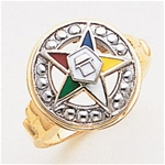 Order of the Eastern Star Ring Macoy Publishing Masonic Supply 8847