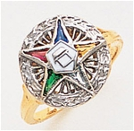Order of the Eastern Star Ring Macoy Publishing Masonic Supply 8850
