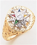 Order of the Eastern Star Ring Macoy Publishing Masonic Supply 8856