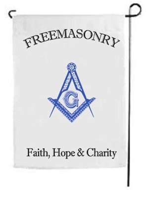 Masonic Yard Flag