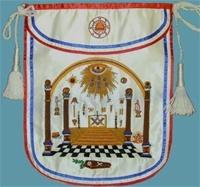 Bro  George Washington Masonic Apron