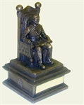 "The ""Master in the Chair"" Figurine"