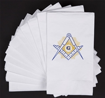 Masonic Dinner Napkins (50)