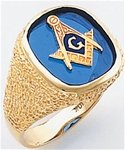 Masonic Ring - 9970 - open back