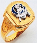 Masonic Ring Macoy Pub and Masonic Supply 9994