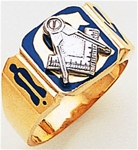 Masonic Gold Ring - 9996