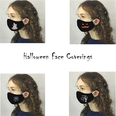 Halloween Face Coverings child - USA made to order