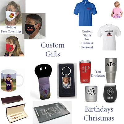 Custom Non Masonic Items for gifts or your business