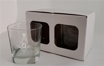 Libby 2207 Quartet 9.25 oz Rock glass set of 2