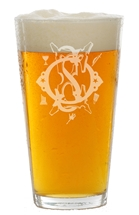 OES 16 oz pint glass