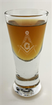 Masonic Firing Shot Glass