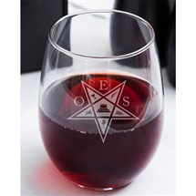 OES Stemless 15oz Wine glass