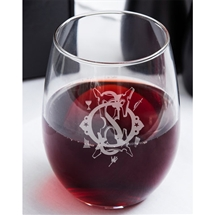 OES Stemless 17oz Wine glass