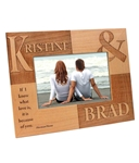 Couples Wood Frame