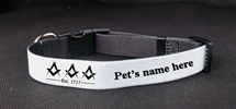 Custom Masonic Large Dog Collar