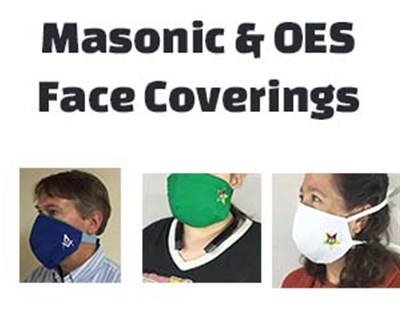 Face Coverings for OES and Freemasons