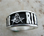 MARINES Masonic Sterling Silver ring