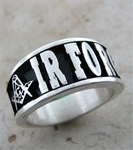 AIR FORCE Masonic Sterling Silver ring