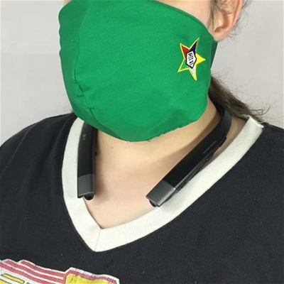 Eastern Star Face Covering - 100% USA MADE