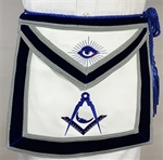 Leather Velvet Jr. Deacon Officer apron - Roadshow