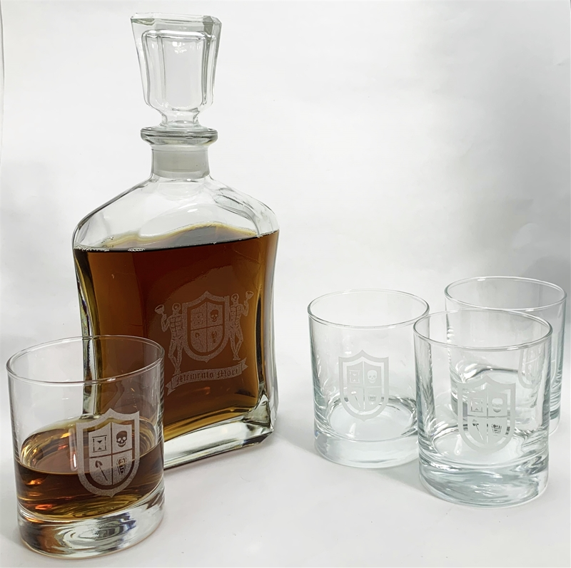 Masonic Glass Decanter only