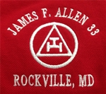 James F. Allen Chapter 33 RAM Masonic Shirt