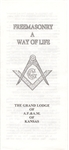 Feemasonry A Way of Life Pamphlet