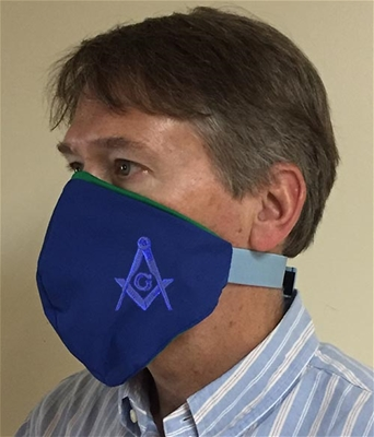 Subtle Masonic Face covering - 100% USA MADE