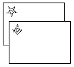 Masonic Placemats - Sold in Packs of 25