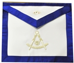Past Master White Satin Apron